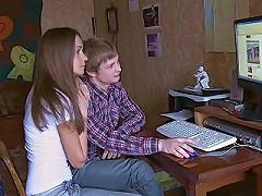 Guy Caresses Girlfriend^casual Teen Sex Teen Porn Sex XXX Video Vids Movie Mov Young Sexy Girl