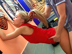 18yo Sabrina Blond Getting Nailed In The Bike Garage^sabrina Blond Teen Porn Sex XXX Video Vids Movie Mov Young Sexy Girl