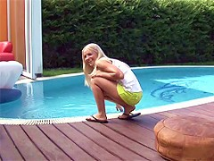 Playing At The Pool^seventeenvideo Teen Porn Sex XXX Video Vids Movie Mov Young Sexy Girl