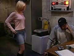 Cute Blonde Girl Having Sex At Work^beeg