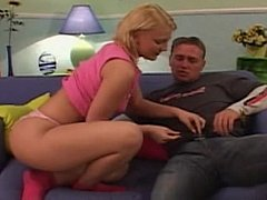 Blonde Teen Gets Her Pussy And Ass Fucked^beeg