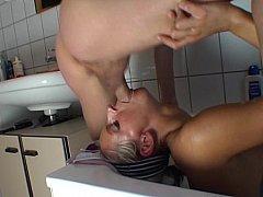 Girl Giving Deepthroat And Fucking In The Bathroom^beeg