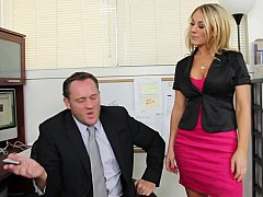 Amber Ashlee, Alec Knight  Amber Ashlee Gets Called Into Her Boss's Office^beeg