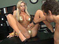 Brooke Banner  Tall Busty Blonde Boss^beeg