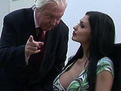 Aletta Ocean, James Brossman  Oral Sex With Help Of Their Boss^beeg