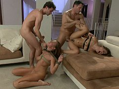 James Deen, John Strong, Kristina Rose, Lizzy London  Dirty Fantasies Of A Submissive Wife^beeg