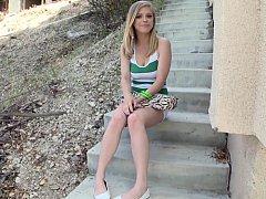 Penny Pax  Cute Blonde Teen Posing Before Anal^beeg