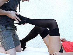 Bianca  Cute Teen Bianca In Sexy Lingerie Gets Licked And Fucked^beeg