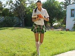 Mia  Schoolgirl Giving Head^beeg