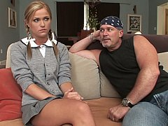 Shy Schoolgirl Takes A Cock^beeg
