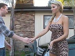 Natalie Vegas, Ryan Blaze  Natalie Sucking Her Father's Personal Mechanic^beeg