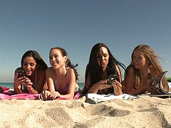 Beach Orgy^beeg