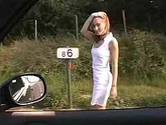 Euro Babe Getting Fucked On A Roadside^beeg