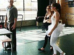 Lexi Belle, Gracie Glam, Johnny Sins  Black Swan In A Ballet Hardcore^beeg
