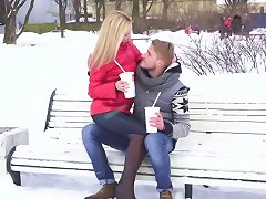 Flawless European Teenie Filled With Sperm