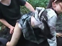 Outdoor Nasty Orgy With Asian Teen Submitted To Hardcore Sex