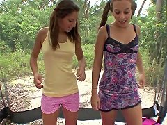 Two Hot Girlfriends Have Sex Outdoors Txxx Com